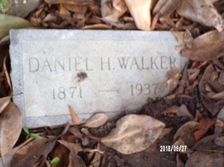 WALKER, DANIEL H - St. Tammany County, Louisiana   DANIEL H WALKER - Louisiana Gravestone Photos