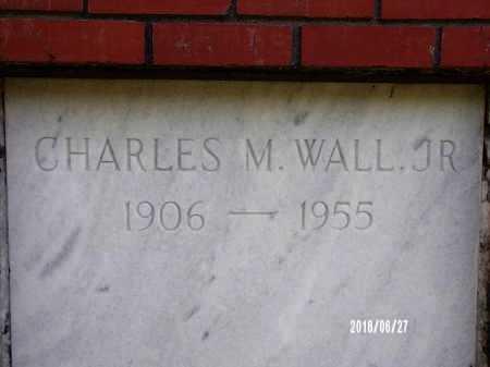WALL, CHARLES M, JR - St. Tammany County, Louisiana | CHARLES M, JR WALL - Louisiana Gravestone Photos