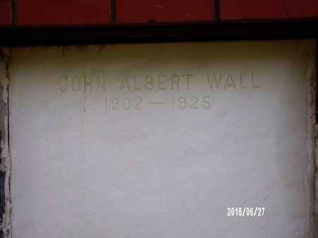 WALL, JOHN ALBERT - St. Tammany County, Louisiana | JOHN ALBERT WALL - Louisiana Gravestone Photos