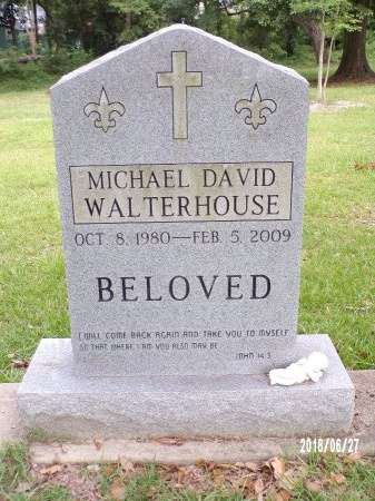 WALTERHOUSE, MICHAEL DAVID - St. Tammany County, Louisiana | MICHAEL DAVID WALTERHOUSE - Louisiana Gravestone Photos