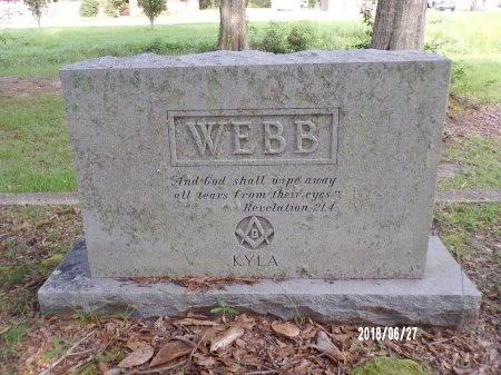 WEBB, MEMORIAL - St. Tammany County, Louisiana | MEMORIAL WEBB - Louisiana Gravestone Photos