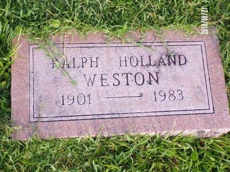 WESTON, RALPH HOLLAND - St. Tammany County, Louisiana | RALPH HOLLAND WESTON - Louisiana Gravestone Photos