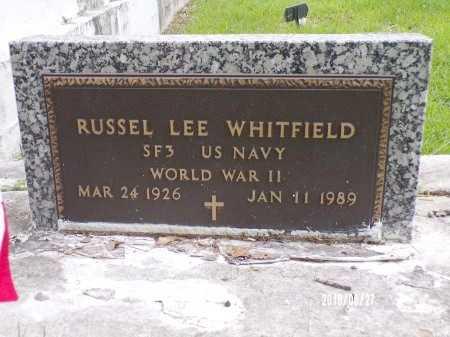 WHITFIELD, RUSSEL LEE (VETERAN WWII) - St. Tammany County, Louisiana | RUSSEL LEE (VETERAN WWII) WHITFIELD - Louisiana Gravestone Photos