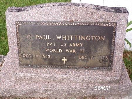 WHITTINGTON, CARROLL PAUL (VETERAN WWII) - St. Tammany County, Louisiana | CARROLL PAUL (VETERAN WWII) WHITTINGTON - Louisiana Gravestone Photos