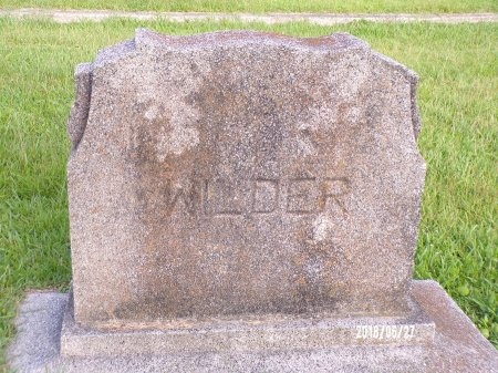 WILDER, WILLIAM ODIS - St. Tammany County, Louisiana | WILLIAM ODIS WILDER - Louisiana Gravestone Photos