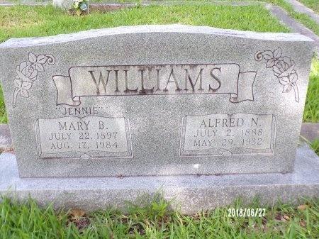 WILLIAMS, ALFRED N - St. Tammany County, Louisiana | ALFRED N WILLIAMS - Louisiana Gravestone Photos