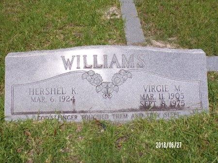 WILLIAMS, VIRGIE M - St. Tammany County, Louisiana | VIRGIE M WILLIAMS - Louisiana Gravestone Photos