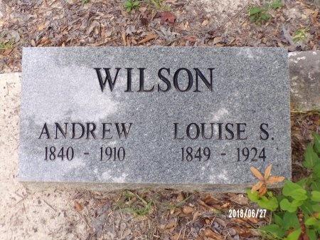 WILSON, LOUISE S - St. Tammany County, Louisiana | LOUISE S WILSON - Louisiana Gravestone Photos