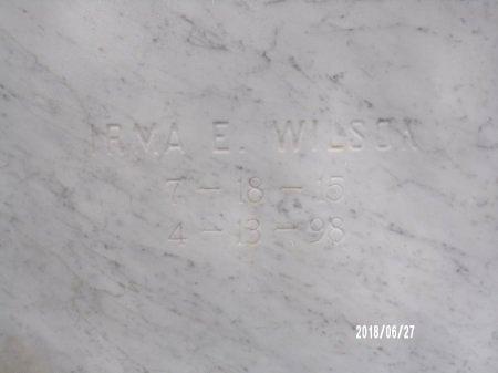 WILSON, IRMA E (CLOSE UP) - St. Tammany County, Louisiana | IRMA E (CLOSE UP) WILSON - Louisiana Gravestone Photos