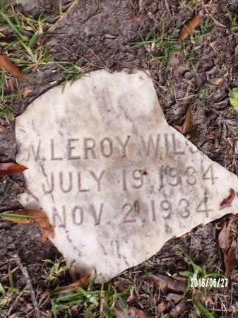 WILSON, W LEROY - St. Tammany County, Louisiana | W LEROY WILSON - Louisiana Gravestone Photos