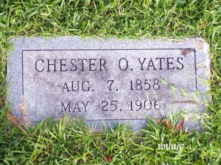 YATES, CHESTER O - St. Tammany County, Louisiana   CHESTER O YATES - Louisiana Gravestone Photos