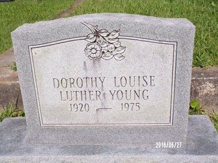 LUTHER YOUNG, DOROTHY LOUISE - St. Tammany County, Louisiana | DOROTHY LOUISE LUTHER YOUNG - Louisiana Gravestone Photos