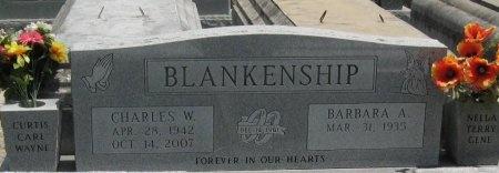 BLANKENSHIP, BARBARA ANN - Tangipahoa County, Louisiana | BARBARA ANN BLANKENSHIP - Louisiana Gravestone Photos