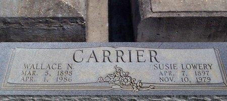 LOWERY CARRIER, SUSIE - Tangipahoa County, Louisiana | SUSIE LOWERY CARRIER - Louisiana Gravestone Photos