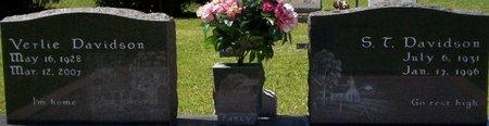 DAVIDSON, S T - Tangipahoa County, Louisiana | S T DAVIDSON - Louisiana Gravestone Photos