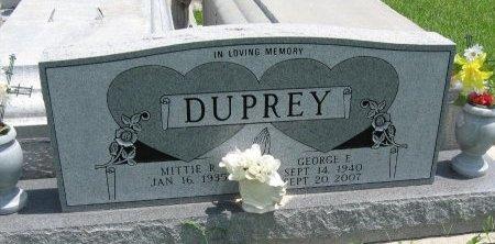 DUPREY, GEORGE EDWARD - Tangipahoa County, Louisiana | GEORGE EDWARD DUPREY - Louisiana Gravestone Photos