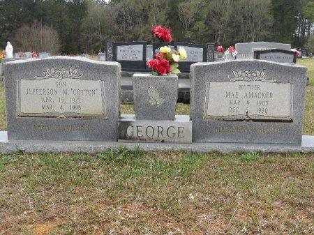 GEORGE, JEFFERSON M - Tangipahoa County, Louisiana | JEFFERSON M GEORGE - Louisiana Gravestone Photos