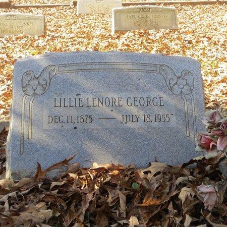 GEORGE, LILLIE LENORE - Tangipahoa County, Louisiana   LILLIE LENORE GEORGE - Louisiana Gravestone Photos