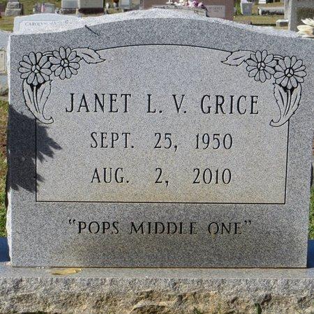 GRICE, JANET LEE - Tangipahoa County, Louisiana   JANET LEE GRICE - Louisiana Gravestone Photos