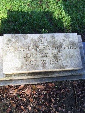 HUGHES, ALMA - Tangipahoa County, Louisiana   ALMA HUGHES - Louisiana Gravestone Photos
