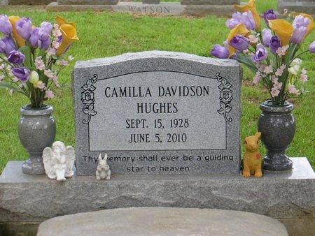 HUGHES, CAMILLA - Tangipahoa County, Louisiana   CAMILLA HUGHES - Louisiana Gravestone Photos