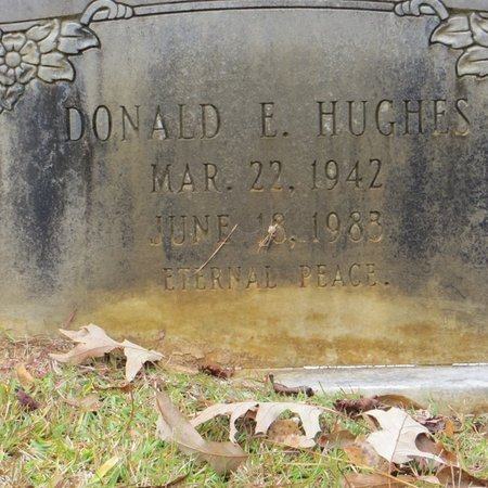 HUGHES, DONALD E - Tangipahoa County, Louisiana | DONALD E HUGHES - Louisiana Gravestone Photos