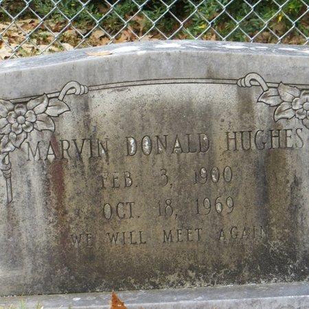 HUGHES, MARVIN DONALD - Tangipahoa County, Louisiana | MARVIN DONALD HUGHES - Louisiana Gravestone Photos
