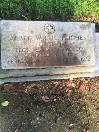 HUGHES, ALBEE WILLIE  (VETERAN WWII) - Tangipahoa County, Louisiana | ALBEE WILLIE  (VETERAN WWII) HUGHES - Louisiana Gravestone Photos