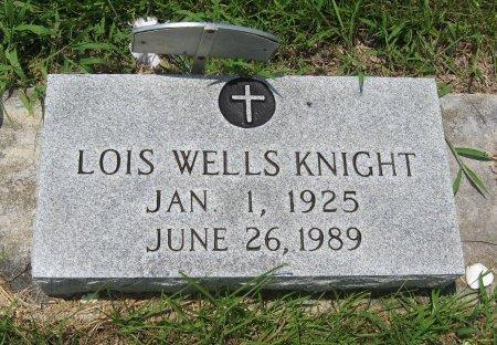 WELLS KNIGHT, LOIS - Tangipahoa County, Louisiana | LOIS WELLS KNIGHT - Louisiana Gravestone Photos