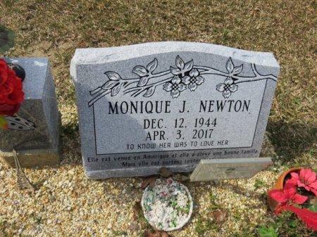 LANGLET NEWTON, MONIQUE JULIETTE - Tangipahoa County, Louisiana | MONIQUE JULIETTE LANGLET NEWTON - Louisiana Gravestone Photos