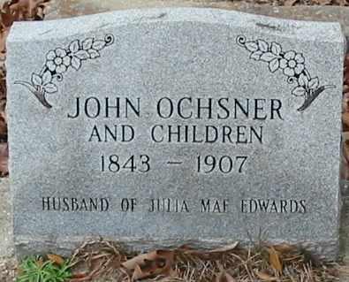 OCHSNER, JOHN - Tangipahoa County, Louisiana | JOHN OCHSNER - Louisiana Gravestone Photos