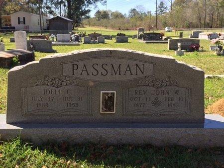 PASSMAN, IDELL - Tangipahoa County, Louisiana | IDELL PASSMAN - Louisiana Gravestone Photos