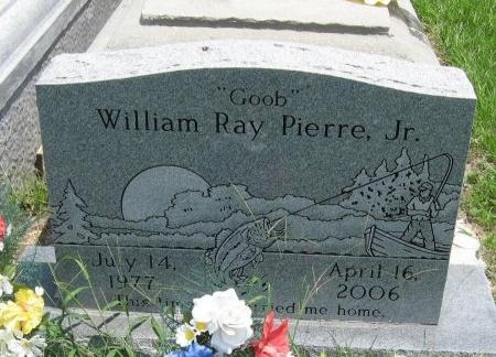 """PIERRE, WILLIAM RAY, JR  """"GOOB"""" - Tangipahoa County, Louisiana   WILLIAM RAY, JR  """"GOOB"""" PIERRE - Louisiana Gravestone Photos"""