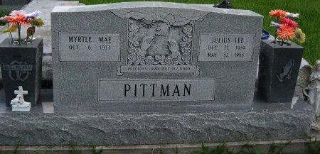 PITTMAN, MYRTLE MAE - Tangipahoa County, Louisiana   MYRTLE MAE PITTMAN - Louisiana Gravestone Photos