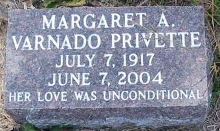 PRIVETTE, MARGARET A - Tangipahoa County, Louisiana   MARGARET A PRIVETTE - Louisiana Gravestone Photos