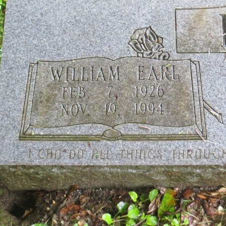 RUSH, WILLIAM EARL (CLOSE UP) - Tangipahoa County, Louisiana | WILLIAM EARL (CLOSE UP) RUSH - Louisiana Gravestone Photos