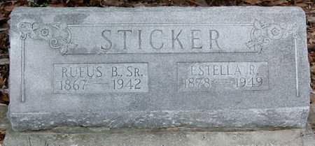 STICKER, ESTELLA B - Tangipahoa County, Louisiana   ESTELLA B STICKER - Louisiana Gravestone Photos