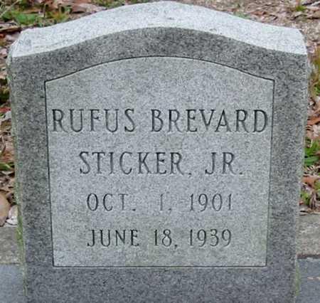 STICKER, RUFUS BREVARD, JR - Tangipahoa County, Louisiana   RUFUS BREVARD, JR STICKER - Louisiana Gravestone Photos