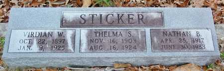 STICKER, THELMA S - Tangipahoa County, Louisiana | THELMA S STICKER - Louisiana Gravestone Photos