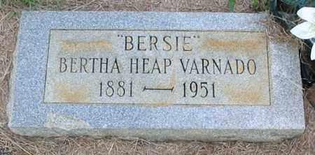 "VARNADO, BERTHA ""BERSIE"" - Tangipahoa County, Louisiana | BERTHA ""BERSIE"" VARNADO - Louisiana Gravestone Photos"