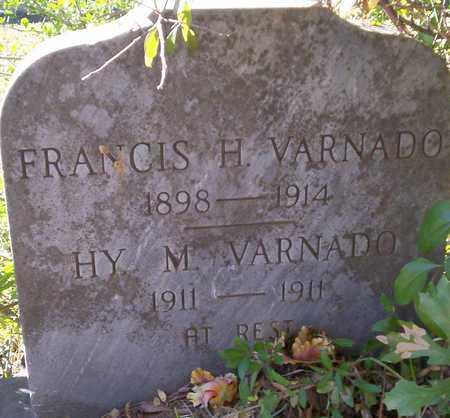 VARNADO, FRANCIS H - Tangipahoa County, Louisiana | FRANCIS H VARNADO - Louisiana Gravestone Photos