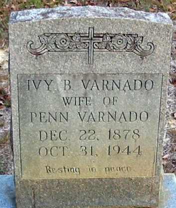 VARNADO, IVY B - Tangipahoa County, Louisiana | IVY B VARNADO - Louisiana Gravestone Photos