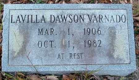 DAWSON VARNADO, LAVILLA - Tangipahoa County, Louisiana | LAVILLA DAWSON VARNADO - Louisiana Gravestone Photos