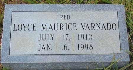 "VARNADO, LOYCE MAURICE ""RED"" - Tangipahoa County, Louisiana | LOYCE MAURICE ""RED"" VARNADO - Louisiana Gravestone Photos"