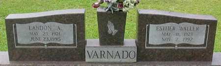 VARNADO, LANDON A - Tangipahoa County, Louisiana | LANDON A VARNADO - Louisiana Gravestone Photos