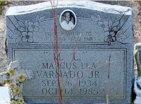 "VARNADO, MARCUS LEA, JR  ""M L"" - Tangipahoa County, Louisiana | MARCUS LEA, JR  ""M L"" VARNADO - Louisiana Gravestone Photos"