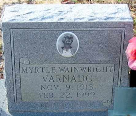 WAINWRIGHT VARNADO, MYRTLE - Tangipahoa County, Louisiana | MYRTLE WAINWRIGHT VARNADO - Louisiana Gravestone Photos