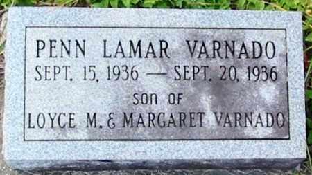 VARNADO, PENN LAMAR - Tangipahoa County, Louisiana   PENN LAMAR VARNADO - Louisiana Gravestone Photos