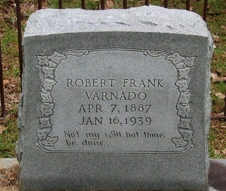 VARNADO, ROBERT FRANK - Tangipahoa County, Louisiana | ROBERT FRANK VARNADO - Louisiana Gravestone Photos