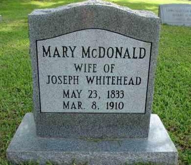 WHITEHEAD, MARY - Tangipahoa County, Louisiana | MARY WHITEHEAD - Louisiana Gravestone Photos